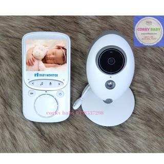 [tặng ngay voucher 50k] Máy báo khóc Corky Baby mbk03 siêu nét - camera giám sát không dây, tín hiệu bắt xa ổn đinh
