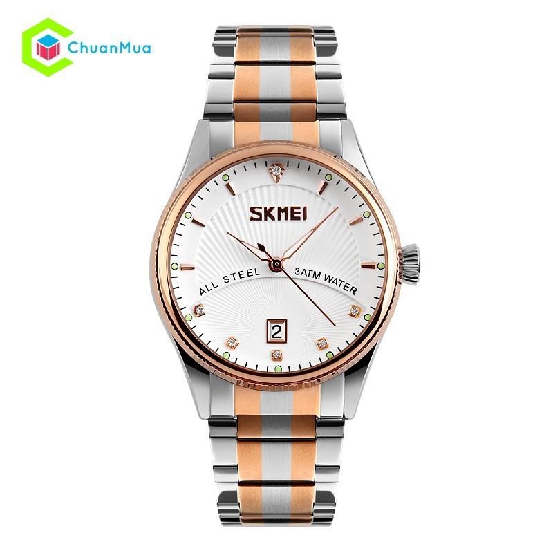 Đồng hồ Nam Skmei 9123 số kim cương DHA456 - Nhiều Màu