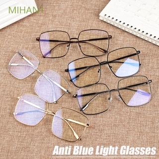 Mắt kính gọng kim loại nhẹ chống ánh sáng xanh lam cho mắt Mihan1