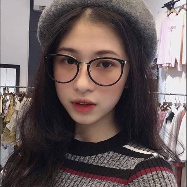 [Mã FAMAYWA giảm 10K đơn 50K]  Kính Nữ ❤️FREESHIP❤️Kính Mắt Tròn Gọng Sắt Hot Girl
