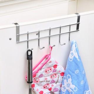 Giá treo đồ , giá inox treo đồ gắn sau tủ, cánh cửa nhà tắm , phòng bếp  Không cần khoan tường _G35
