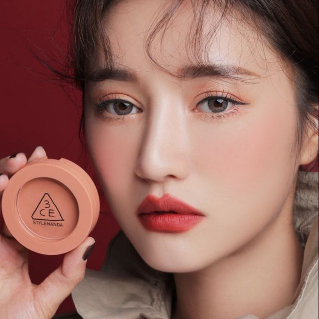 CÓ SẴN) Phấn má hồng 3CE MOOD RECIPE ON AND ON face blush màu Nude ...