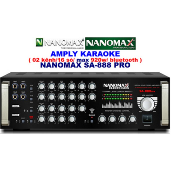 AMPLY NANOMAX SA-888 PRO