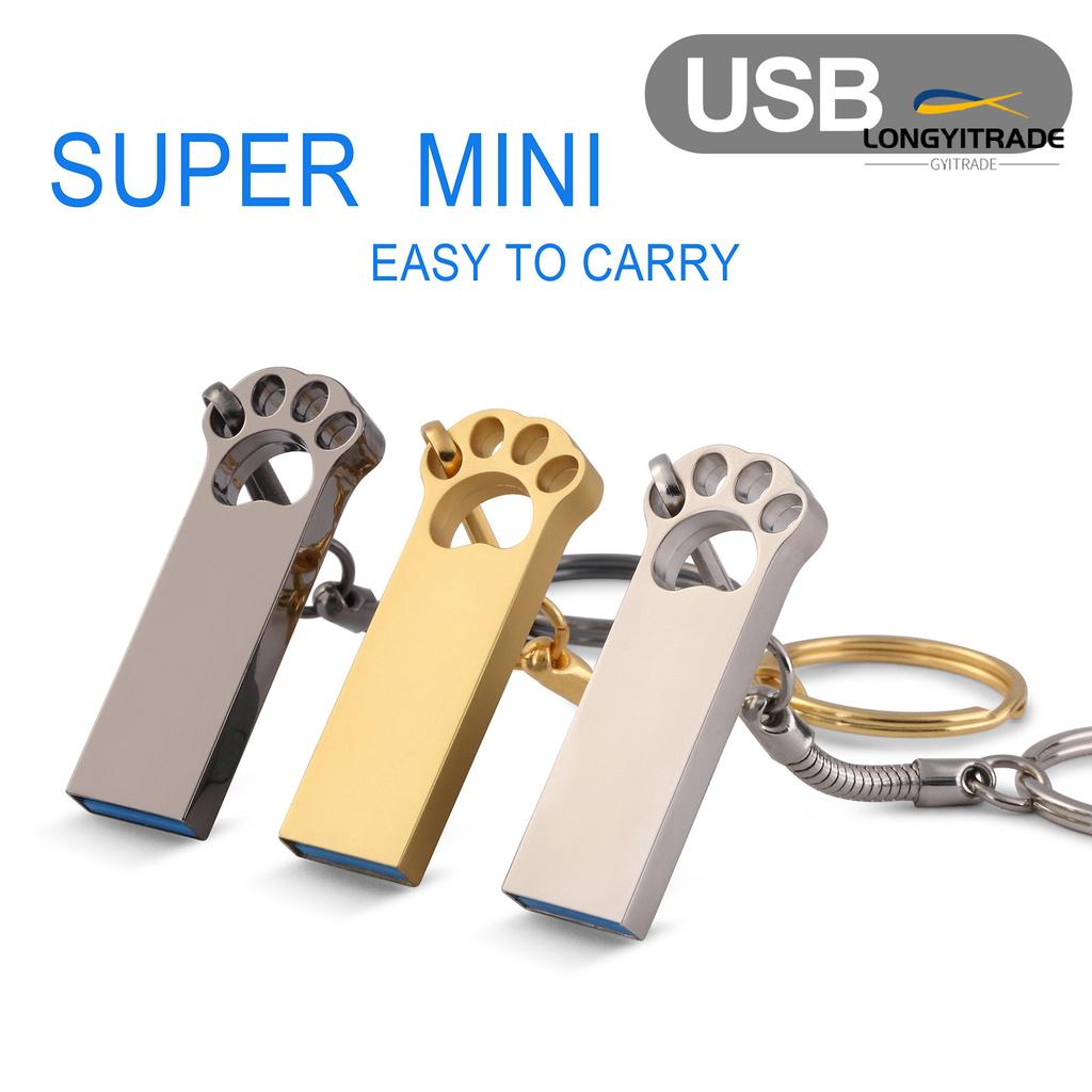Usb Mini 4 / 8 / 16 / 32 / 64gb Với Đầu Chuyển Đổi Type-C