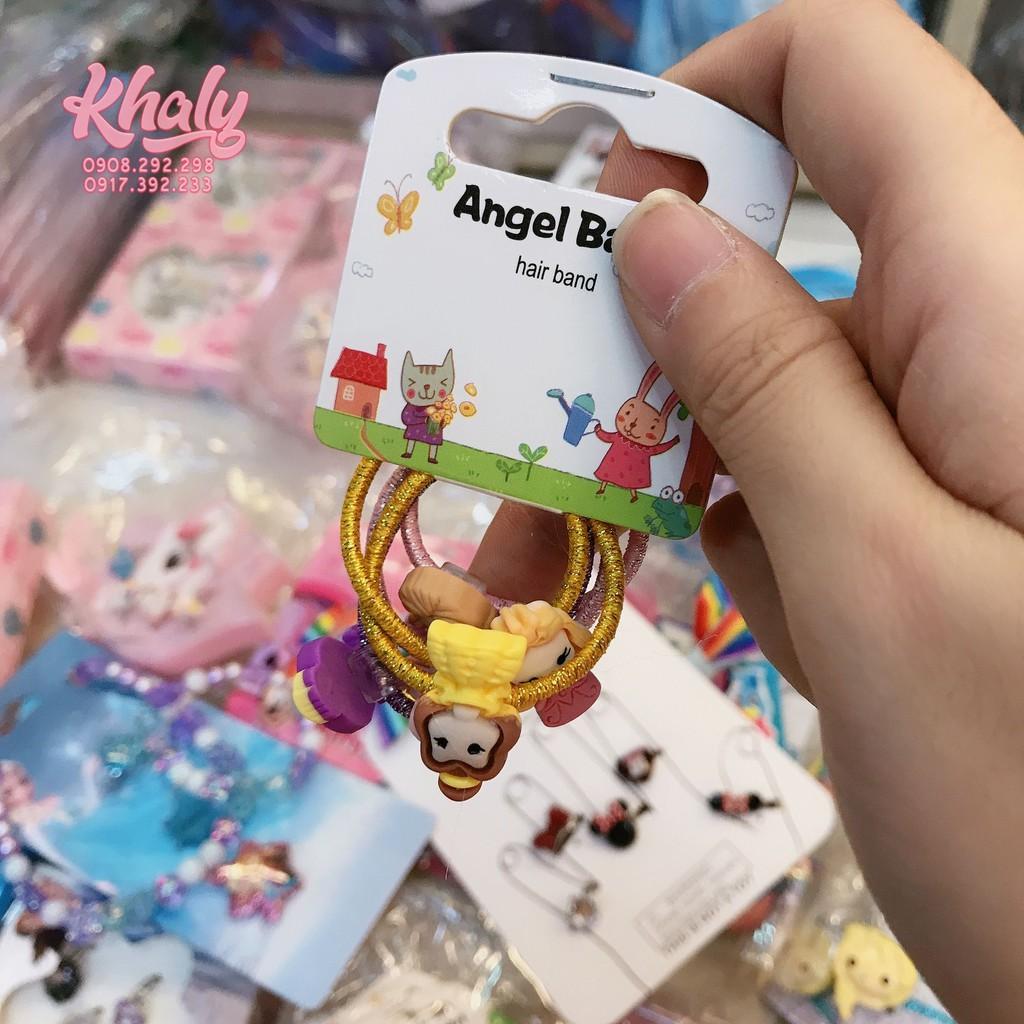 Set 5 cái cột tóc mini hình công chúa Princess chibi màu vàng, tím, hồng  dành cho trẻ em bé gái siêu xinh - 26P55N802052 giảm chỉ còn 59,000 đ