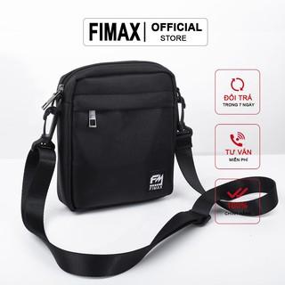 Túi đeo chéo nam nữ mini giá rẻ Fimax, túi nhỏ đeo chéo nam vải chống nước, túi đeo nhỏ tiện lợi đựng điện thoại