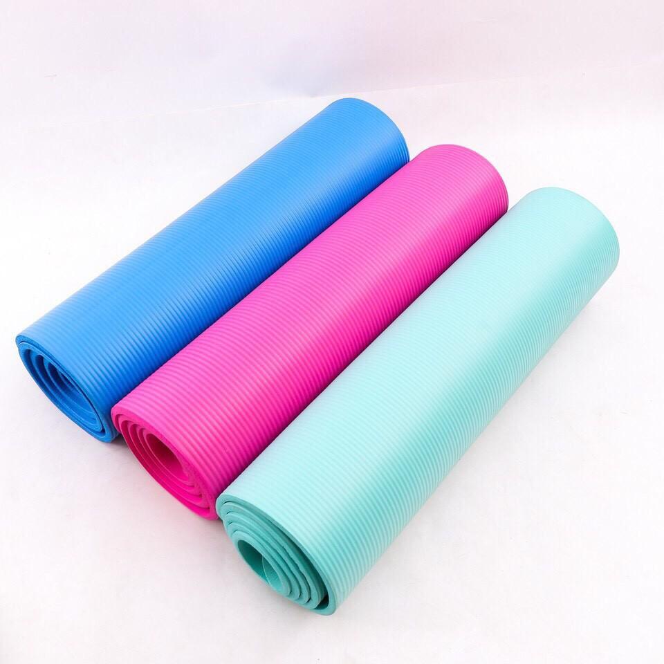 Thảm Yoga 10mm Siêu Dày Dặn Màu Xanh Ngọc