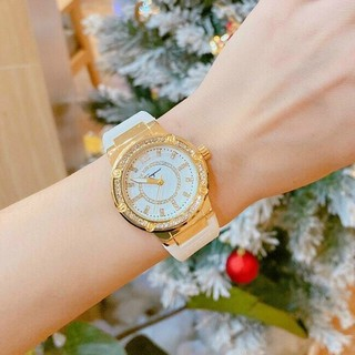 Đồng hồ nữ ferragamo viền đính đá kim cương sang chảnh,đẳngcấp, quý phái
