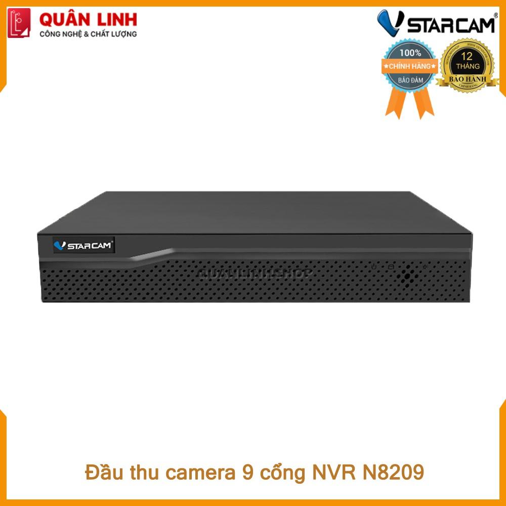 Đầu ghi hình camera IP 9 kênh Vstarcam N8209