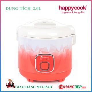 Nồi cơm điện nắp gài Happycook 2.0 lít HC-200 - Sản xuất tại Indonesia - Bảo hành chính hãng 12 tháng