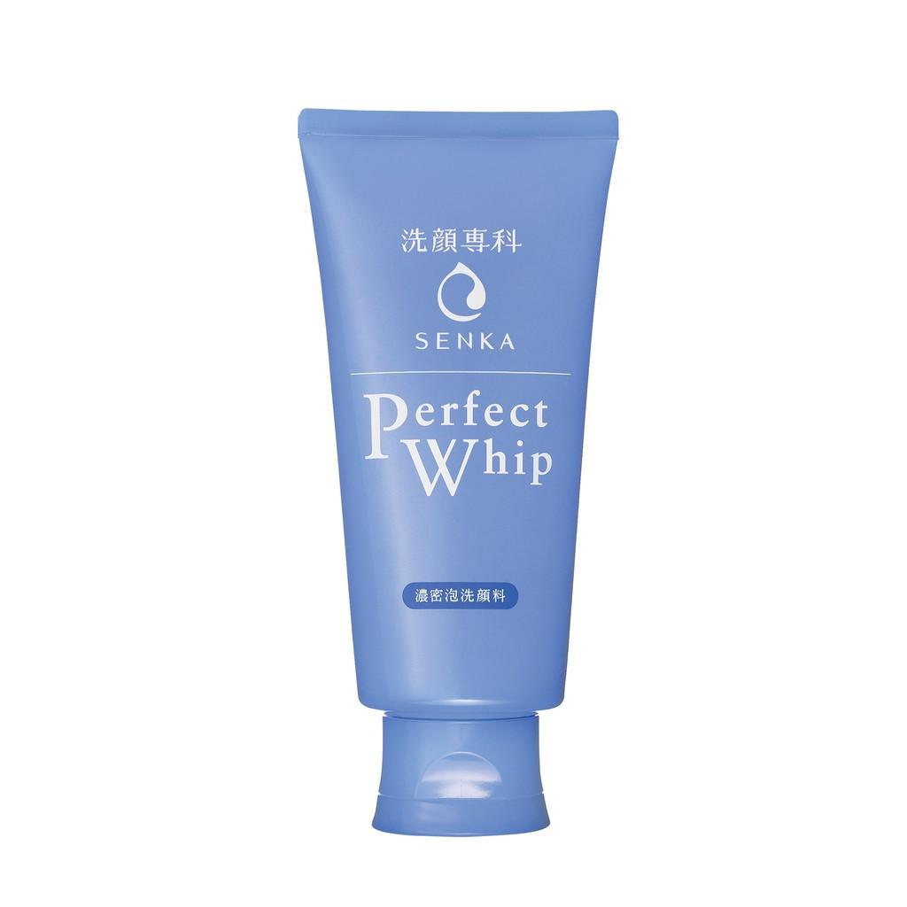 Hình ảnh [HCM] Sữa rửa mặt tạo bọt chiết xuất tơ tằm trắng Senka Perfect Whip 120g_14839-2
