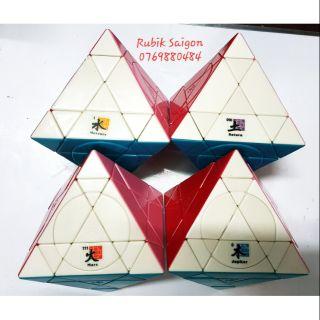 Compo Rubik OCTAHEDRON PLUS stkless Saturn, Mars, Mercury, Jupiter (4 khối)