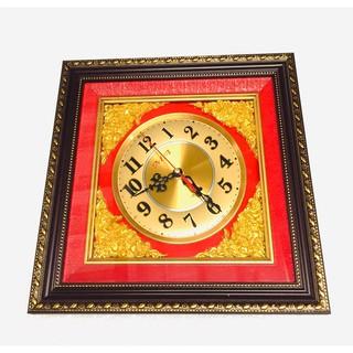 Đồng hồ treo tường khung tranh viền gỗ