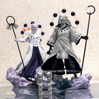 Mô hình figure nhân vật Uchiha Obito và Madara trong Naruto