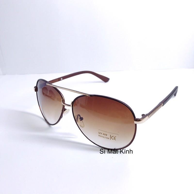 Kính Mát UV400 Thời trang Phi Công Dáng Mắt Chéo Kính Mắt Đi Đêm Kính Mát Đi Nắng