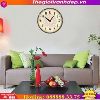 Tranh đồng hồ 12 cung hoàng đạo Thế Giới Tranh Đẹp