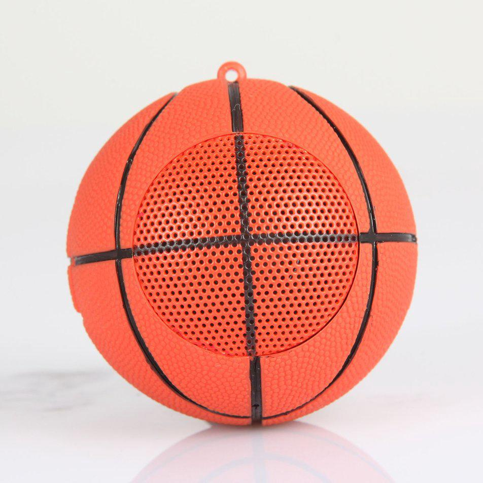 #Good#Creative Basketball Wireless Bluetooth Speaker Mic TF Card MP3 Music Player