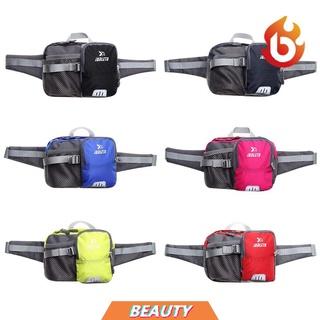 Túi đeo hông đựng bình nước bằng Nylon chống thấm nước thoải mái thời trang cho nam và nữ