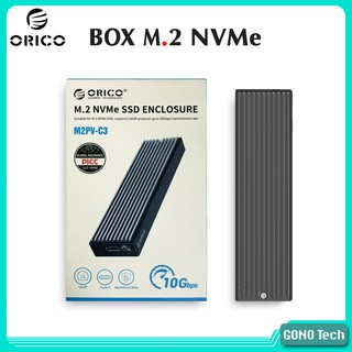 Box ổ cứng SSD M2 NVMe Orico M2PV-C3 Chuyển M.2 PCIe to USB Type-C Hộp đựng SSD làm ổ cứng di thumbnail