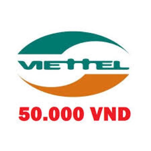 Mã thẻ 50k viettel