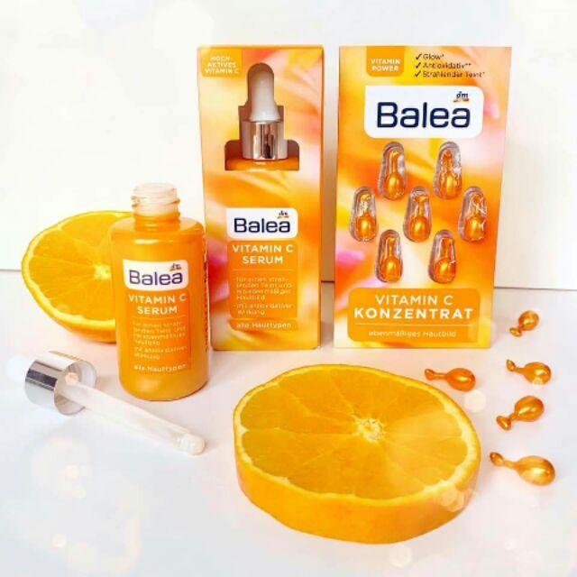 Bill, review) Serum vitamin C Balea nội địa Đức   Shopee Việt Nam