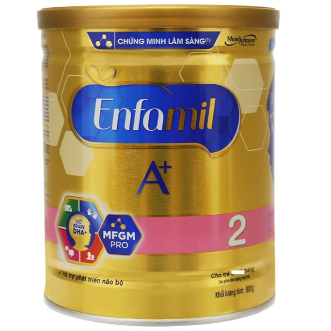 Sữa bột Enfamil A+ 2 MFGM Pro 900g