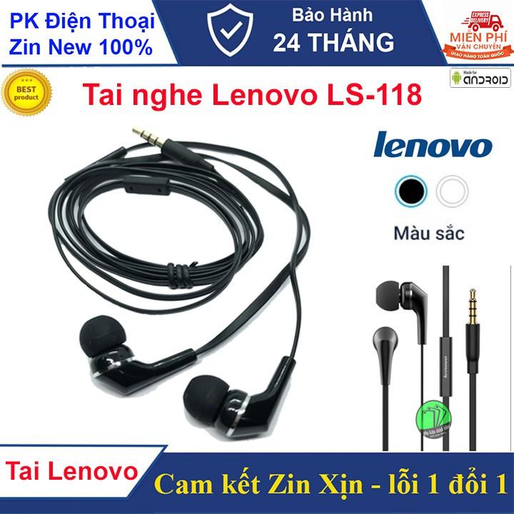 Tai nghe Lenovo LS-118 Jack 3.5mm
