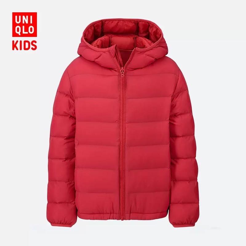 Áo khoác siêu nhẹ Uniqlo bé trai sz 150