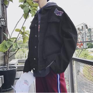 Men's jacket new Korean version trend retro loose ins jacket top