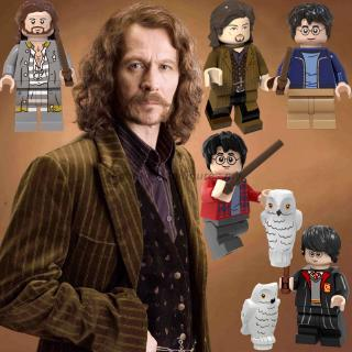 Compatible With Lego Minifigures Harry Potter Sirius Fantastic Beast The Crimes of Grindelwald Building Blocks Toy