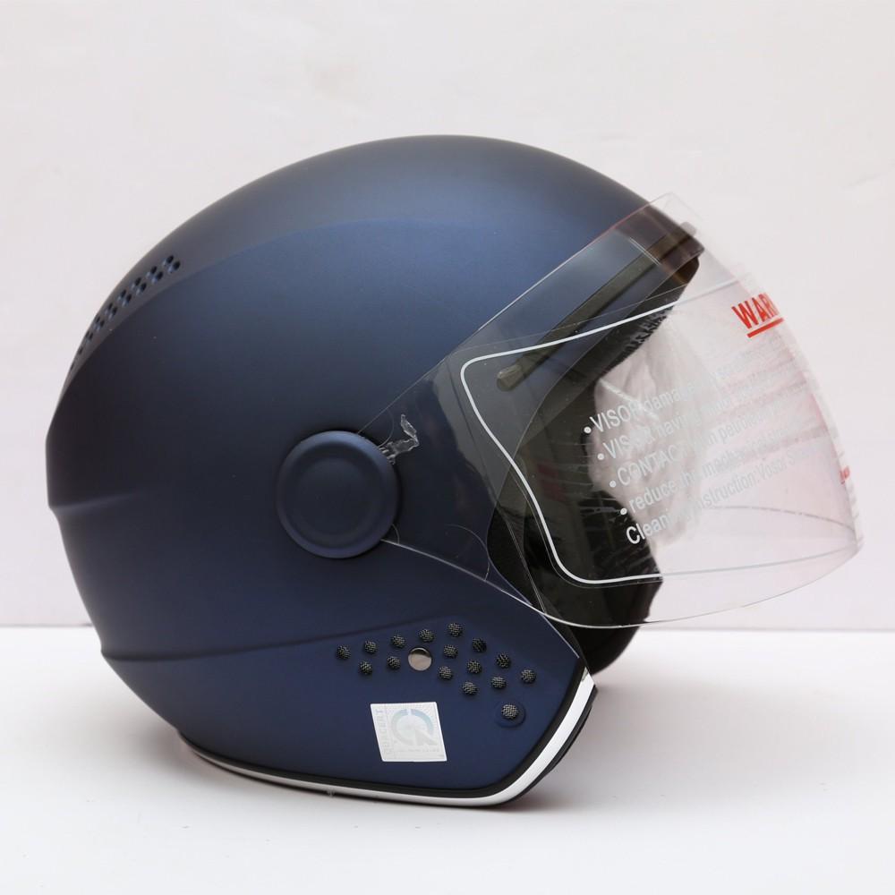 Mũ bảo hiểm 3/4 có kính Protec ViVa, chuyên phượt, an toàn, thon gọn, đẹp mắt
