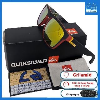 [FullBox] Kính Mát QuikSilver Công Nhệ Grilamid,Chống Nắng,Chống Chói,Chống UV400,Tặng Kèm Hộp Cứng Khăn Lau Túi Mềm