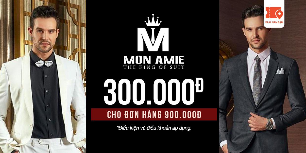 E-Voucher Mon Amie 300.000đ cho đơn hàng 900.000đ
