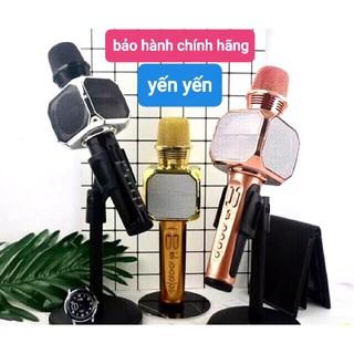 Micro karaoke bluetooth SD-10 Mic hát cầm tay loa không dây mini hát hay đa năng có ghi âm