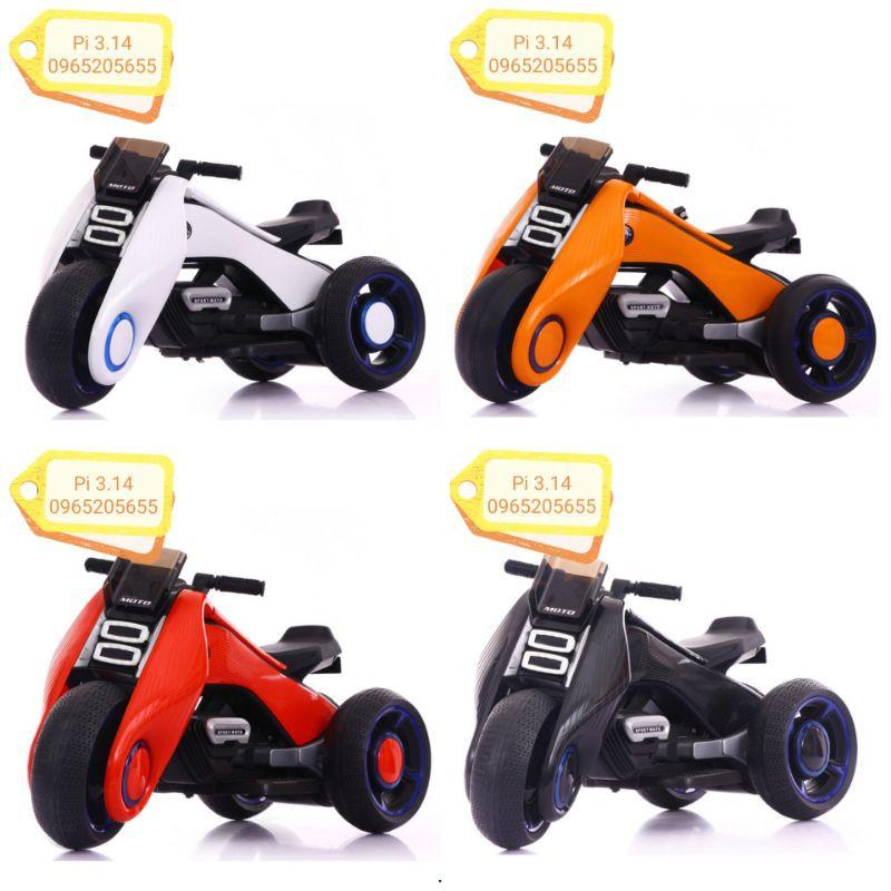 Xe máy điện trẻ em NEXTIOO, xe MOTO điện cho bé nhập chính ngạch loại 1 /Pi 3.14/