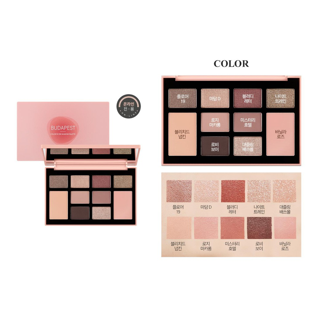 Bảng mắt Color Filter Shadow Palette MISSHA