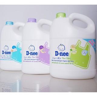 Nước giặt quần áo em bé Dnee 3000ml (Chính hãng có tem Đại Thịnh)