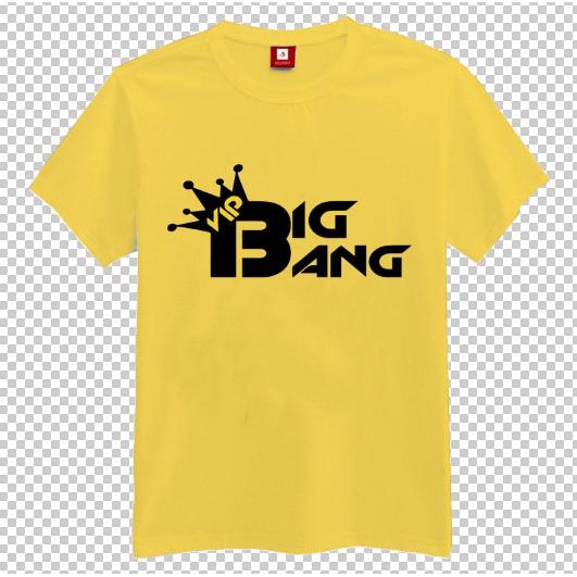 Áo thun nam nữ Kpop logo nhóm nhạc BIGBANG