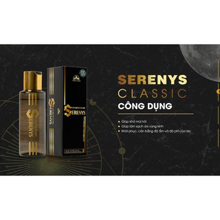 Dung Dịch Vệ Sinh Serenys khử mùi vùng kín NAM GIỚI (Tặng Kèm 1 Quần Sịp Munafie Nam - Mã SP QN17) 4