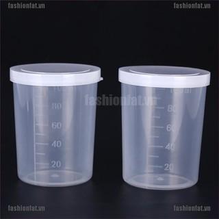 Ly nhựa dùng đo lường dung tích 100ml tiện dụng cho phòng thí nghiệm
