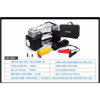 Máy bơm lốp đa năng kèm phụ kiện chuyên dùng cho xe hơi oto (Bơm túi) - 3031405 , 897812441 , 322_897812441 , 800000 , May-bom-lop-da-nang-kem-phu-kien-chuyen-dung-cho-xe-hoi-oto-Bom-tui-322_897812441 , shopee.vn , Máy bơm lốp đa năng kèm phụ kiện chuyên dùng cho xe hơi oto (Bơm túi)