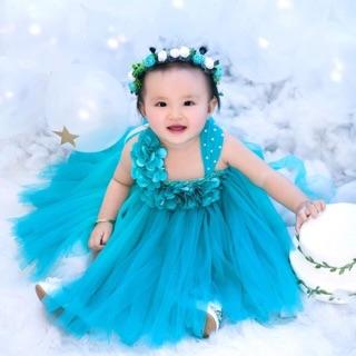 Váy thôi nôi cho bé ❤️FREESHIP❤️ Váy chụp ảnh cho bé thôi nôi