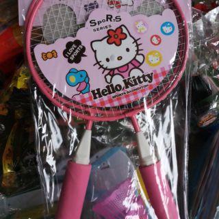 Bộ vợt cầu lông Hello kitty cho bé
