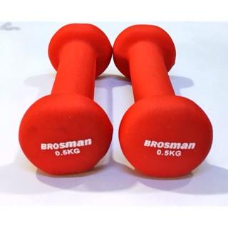 Bộ 2 tạ Brosman 0,5kg