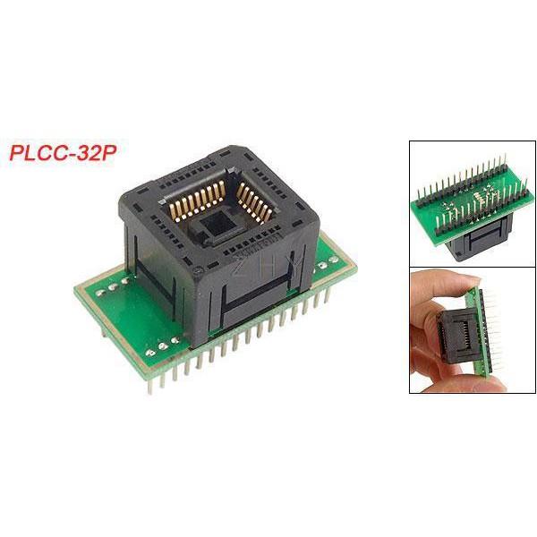 PLCC-32P đế nạp Bios 32 chân vuông loại nhúng