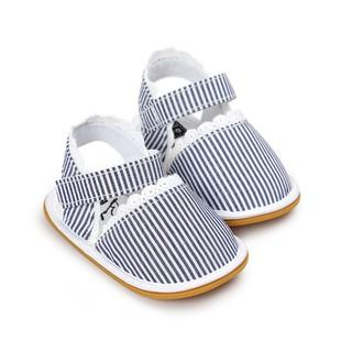 Giày Sandal Sọc Ren Trắng G083 thumbnail