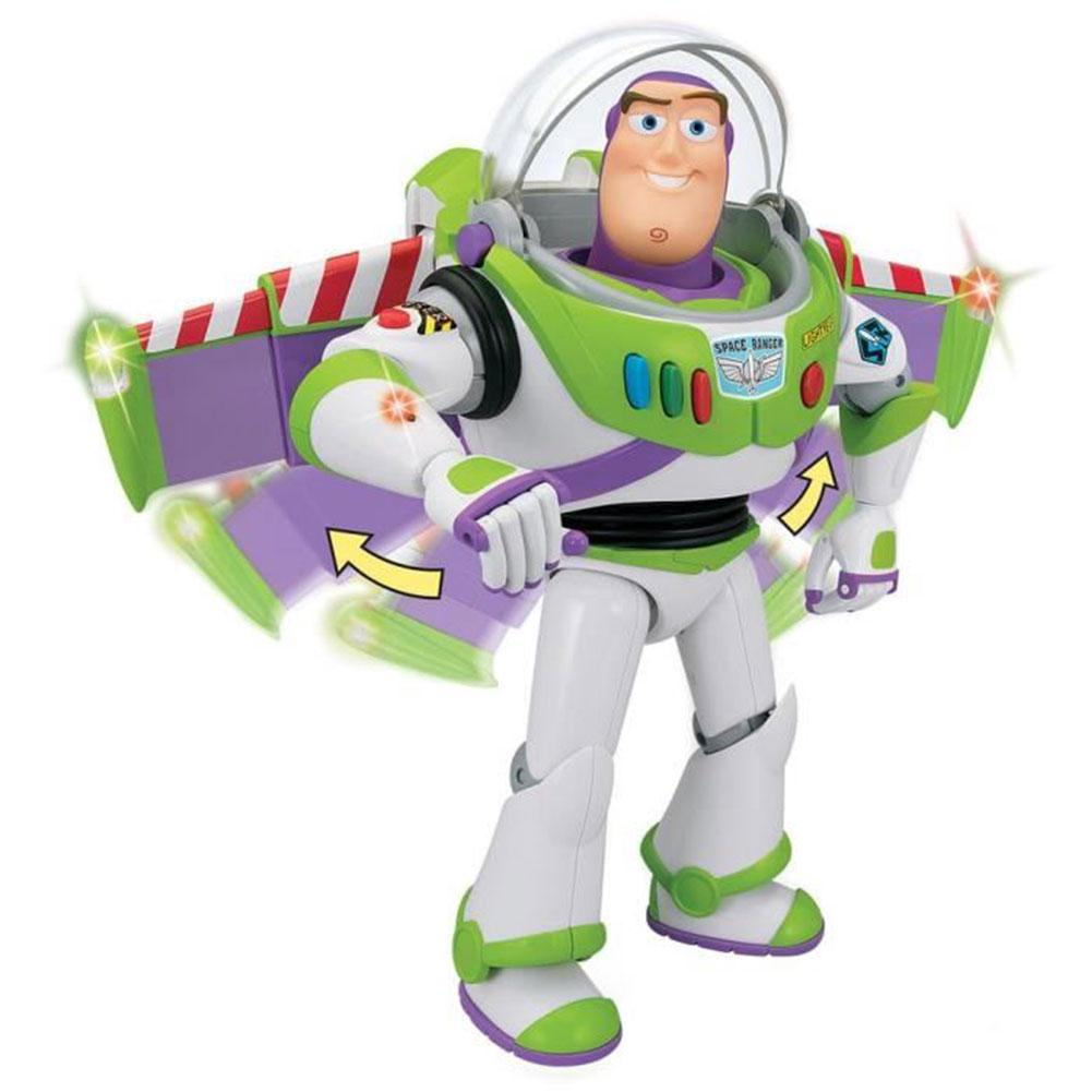 Children Talking Action Figure Voices Buzz Lightyear Gift Toy Doll Lights Kid