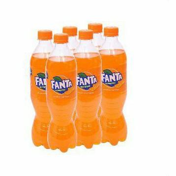 Nước Ngọt Fanta vị Cam, Soda Kem Chai 600ml Hsd 30/04/21