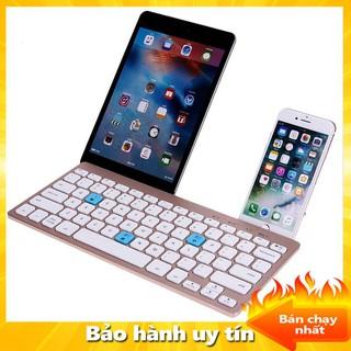 Bàn Phím Cơ Bluetooth, Bàn Phím Mini Không Dây, Bàn Phím Bluetooth BOW HB191A Cho Ipad - Android - Los - Win, Hỗ Trợ Kết thumbnail