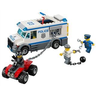 Lego xe cảnh sát bắt tội phạm